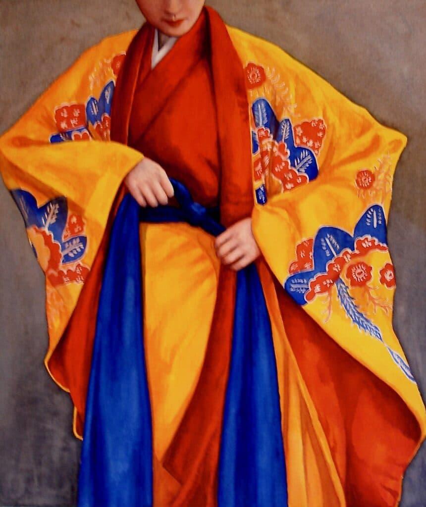 Ryukyu Kimono - Rochelle Heywood