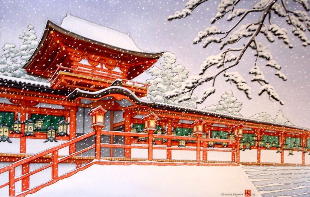 Kasuga Shrine - Rochelle Heywood
