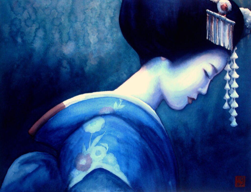 Blue Geisha 1 - Rochelle Heywood