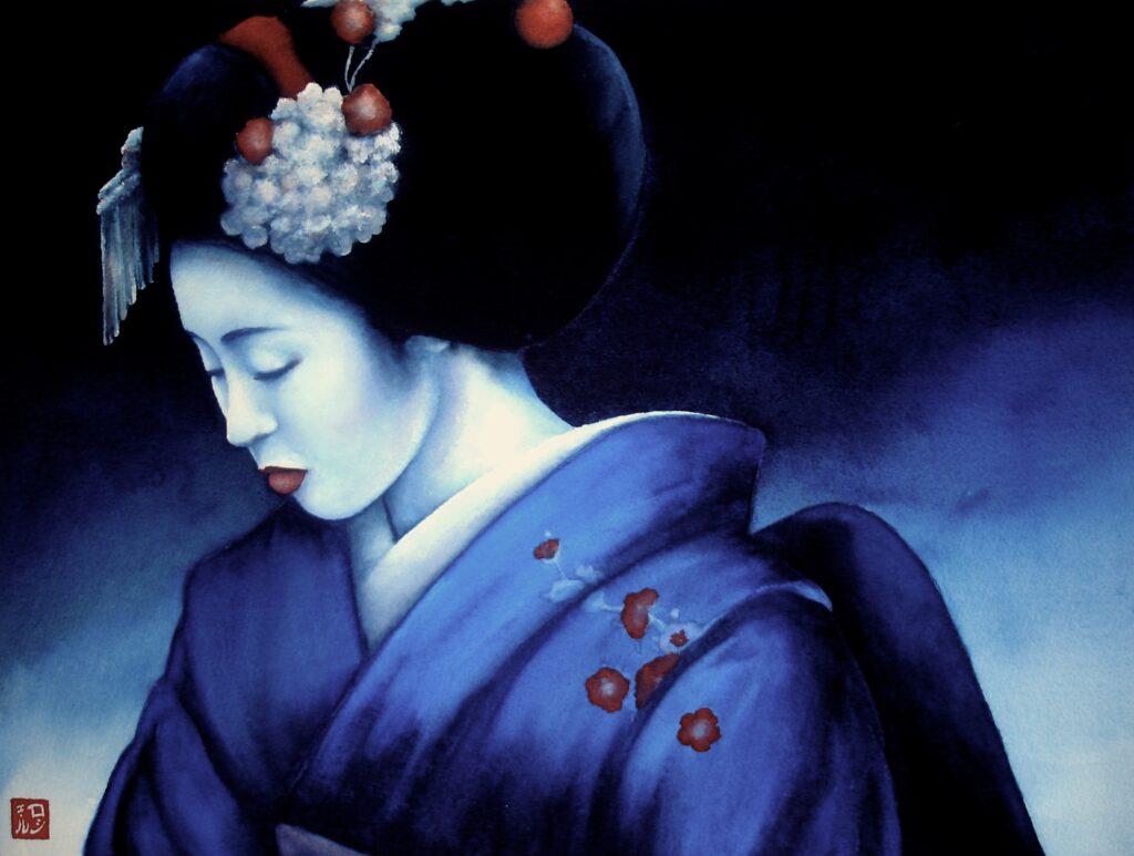 Blue Geisha 3 - Rochelle Heywood