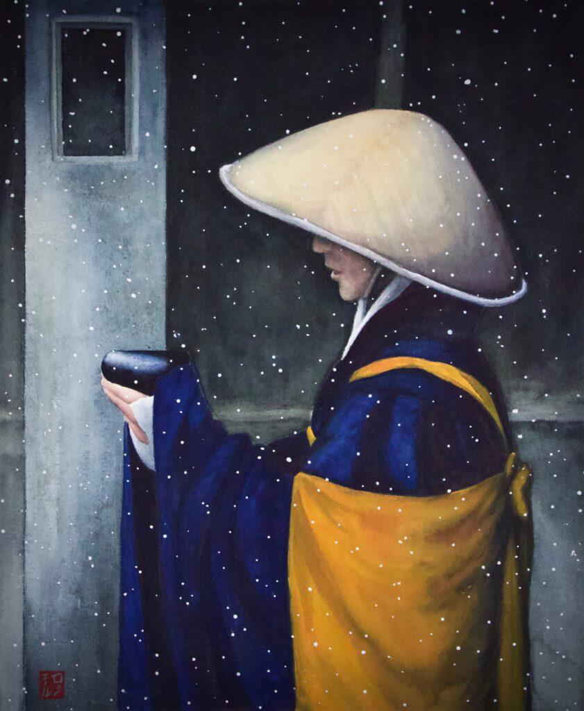 Begging Monk - Rochelle Heywood