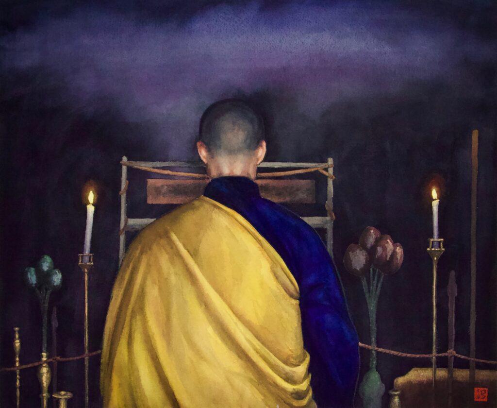 Altar Monk - Rochelle Heywood