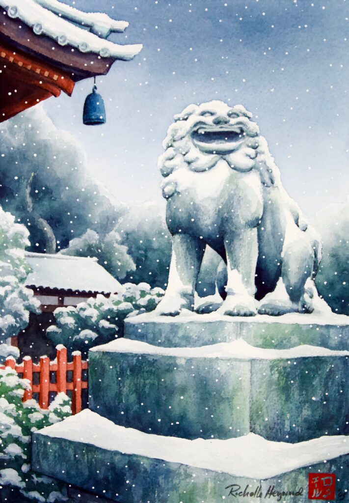 Lion in Winter - Rochelle Heywood