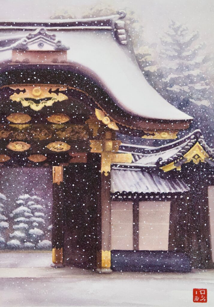Ninomaru (Palace Gate) - Rochelle Heywood