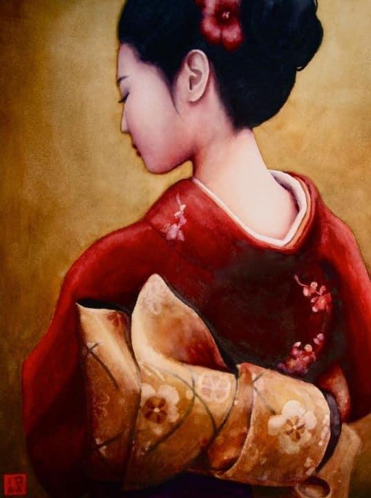 January Kimono - Rochelle Heywood