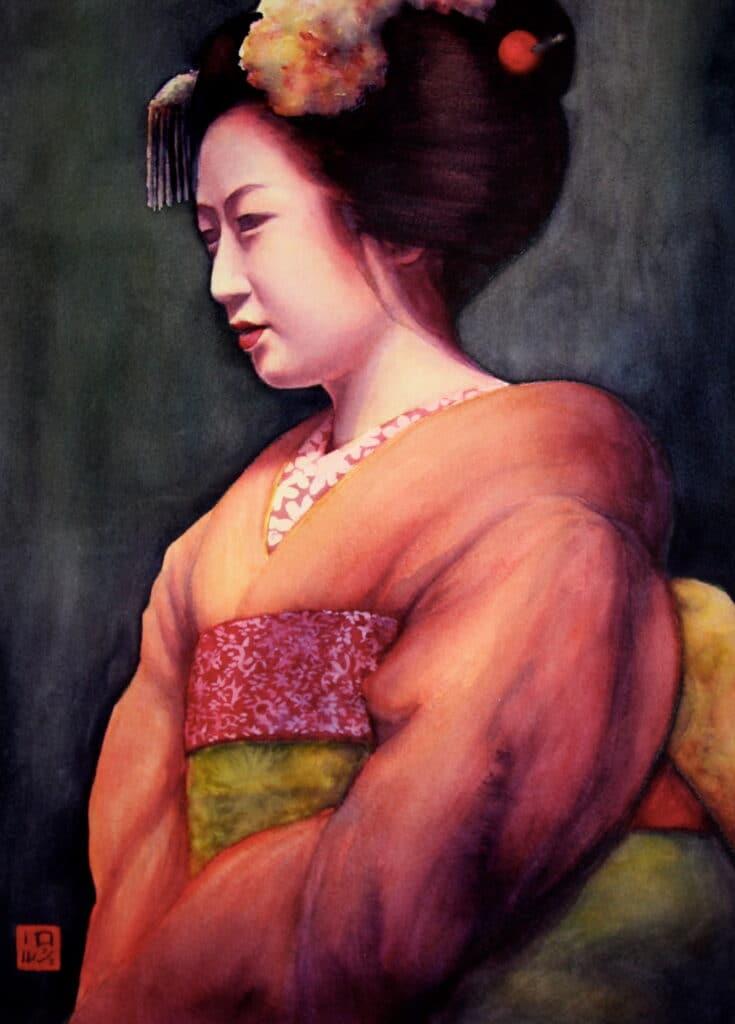 April Geisha - Rochelle Heywood