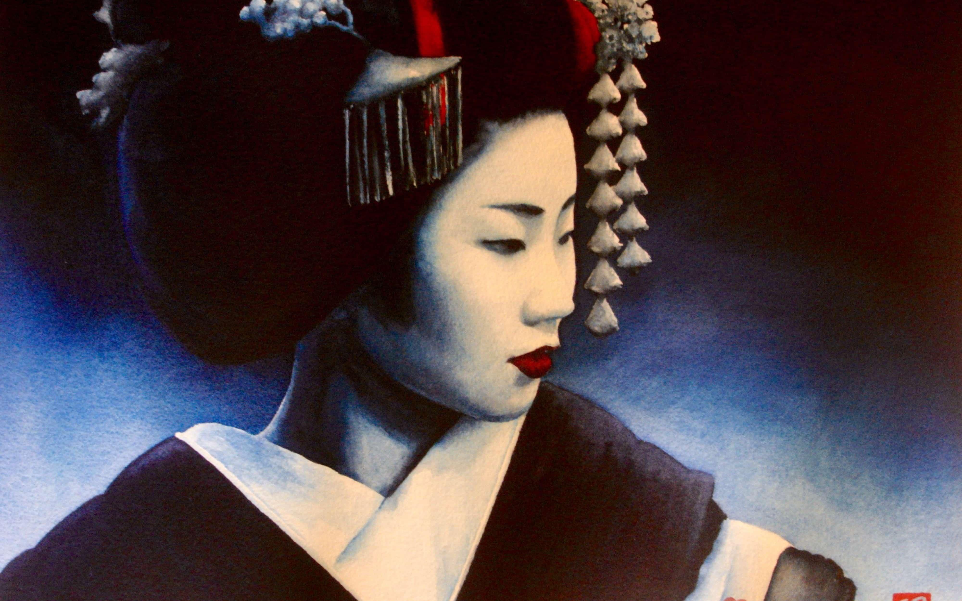 Blue Geisha 2 - Rochelle Heywood